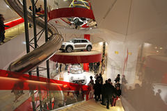Citroen salon in Champs Elysees. Paris Royalty Free Stock Photos