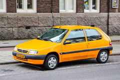 Citroen Saxo Στοκ φωτογραφία με δικαίωμα ελεύθερης χρήσης