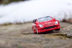 Citroen toy car sprint Royalty Free Stock Photography