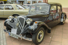 Citroen Traction Avant, classic car stock photos