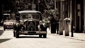 Citroen Traction Avant at Mille Miglia 2016 Stock Image