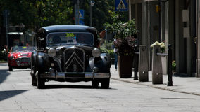 Citroen Traction Avant at Mille Miglia 2016 Royalty Free Stock Photos