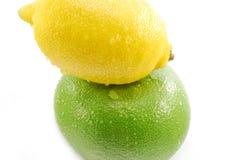 Citroen vruchten Royalty-vrije Stock Afbeeldingen
