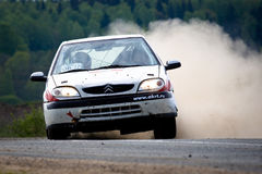 Citroen Xsara at rally Royalty Free Stock Image