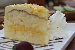Citroencake Royalty-vrije Stock Afbeelding