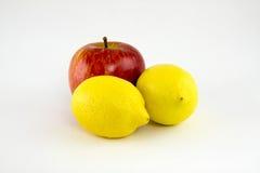 Citroenen en appel Royalty-vrije Stock Afbeelding