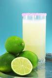 Citroensap en lima fruit Stock Fotografie