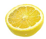 Citron. Lemon stock photo
