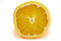 Citron. Half citron is isolated on white lemon half Stock Photo