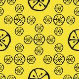 Citron abstrait de modèle Photo stock