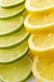Citron allsorts-kalk, citroen royalty-vrije stock foto's