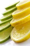 Citron allsorts-kalk, citroen stock afbeelding