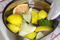 Citron Aromatherapy Photo libre de droits
