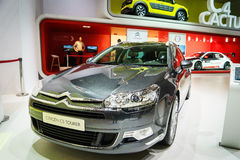 Citroen C5 Tourer, Motor Show Geneve 2015. Stock Photography