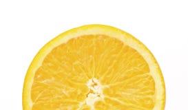 Citron d'isolement sur le fond blanc Image stock