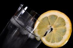Citron de bicarbonate de soude Photographie stock libre de droits