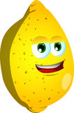 Citron de sourire Photo stock
