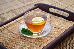 Citron de tasse de thé Image stock