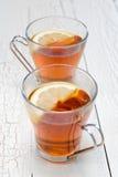 Citron de thé Photo libre de droits