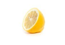 Citron demi Photographie stock libre de droits