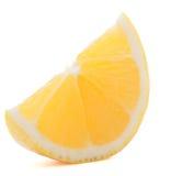 Citron- eller sötcitroncitrusfruktskiva Arkivfoton