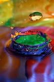 Citron en cristal Photos libres de droits