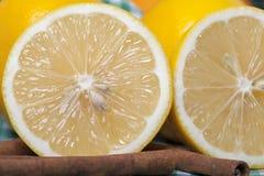Citron et cannelle images stock