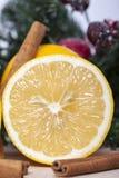 Citron et cannelle photo libre de droits