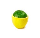 Citron et limette Images stock