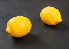 Citron f?r ny frukt royaltyfria bilder