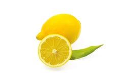 Citron frais de citron Images libres de droits