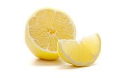 Citron frais mûr Photographie stock libre de droits