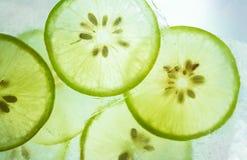 Citron i is Royaltyfri Bild