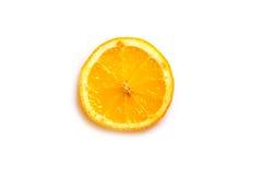 Citron i ett snitt Royaltyfri Foto