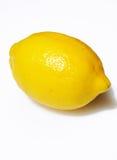 Citron jaune simple Photo stock