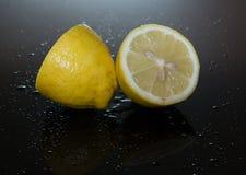 Citron juteux Image libre de droits