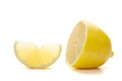 Citron mûr frais Image libre de droits