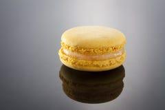 Citron Macaron Royaltyfria Bilder