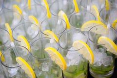 Citron Mocktail Royaltyfri Bild