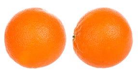 Citron orange Photos libres de droits