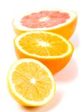 Citron, orange et pamplemousse image libre de droits