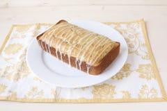 Citron Poppy Seed Bread Arkivbilder