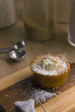Citron Poppy Seed Muffin Photo stock