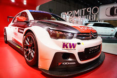Citroen Racing C-Elysee WTCC, Motor Show Geneve 2015. Stock Photos