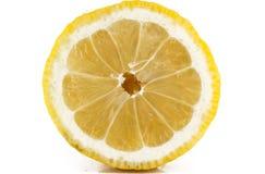 Citron som är halv, ingrediens, natur, fruktsaft, Arkivbild