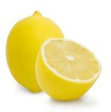 Citron sur le fond blanc Image stock
