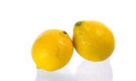 citron två Arkivbilder