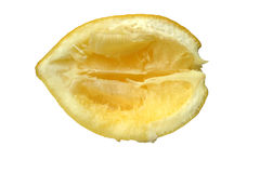 citron ut sammanpressad arkivfoton