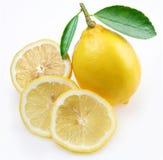 citronavsnitt Royaltyfri Bild