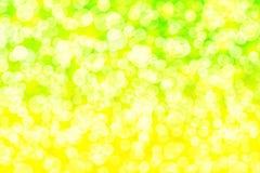 Citronbokeh Royaltyfri Bild